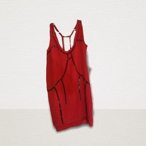 Red mini Diesel dress